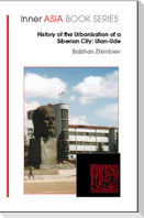 The History of the Urbanisation of a Siberian City: Ulan Ude