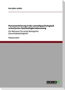 Personzentrierung in der umweltpsychologisch orientierten Nachhaltigkeitsberatung