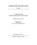 Lageberichte rheinischer Gestapostellen Band 3