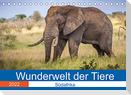 Wunderwelt der Tiere - Südafrika (Tischkalender 2022 DIN A5 quer)