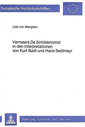Mengden, Lida von. Vermeers de Schilderconst in de