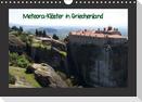 Meteora-Klöster in Griechenland (Wandkalender immerwährend DIN A4 quer)