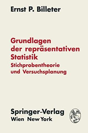 Billeter, Ernst P.. Grundlagen der repräsentative