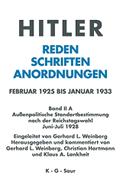 Außenpolitische Standortbestimmung nach der Reichstagswahl Juni - Juli 1928