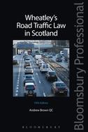 Wheatley's Road Traffic Law in Scotland