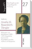 Amalia M. Rosenblüth-Dengler (1892-1979)