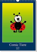 Kuschlige Comic Tiere (Wandkalender 2021 DIN A4 hoch)