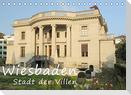 Wiesbaden - Stadt der Villen (Tischkalender 2022 DIN A5 quer)