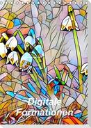 Digitale Formationen (Tischkalender 2021 DIN A5 hoch)