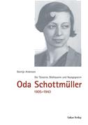 Oda Schottmüller 1905 - 1943