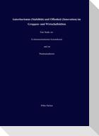 Autoritarismus (Stabilität) und Offenheit (Innovation) im Gruppen- und Wirtschaftsleben