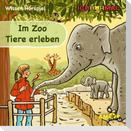 Im Zoo Tiere erleben. CD + Ausmalheft