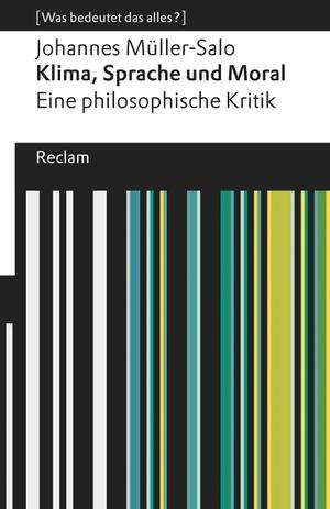 Müller-Salo, Johannes. Klima, Sprache und Moral.