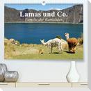 Lamas und Co. Familie der Kameliden (Premium, hochwertiger DIN A2 Wandkalender 2021, Kunstdruck in Hochglanz)