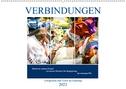 Verbindungen - Fotografien und Texte im Einklang (Wandkalender 2021 DIN A2 quer)