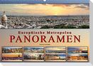 Europäische Metropolen - Panoramen (Wandkalender 2022 DIN A2 quer)