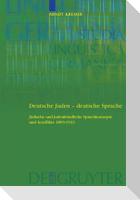 Deutsche Juden - deutsche Sprache