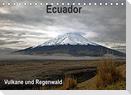 Ecuador - Regenwald und Vulkane (Tischkalender 2022 DIN A5 quer)