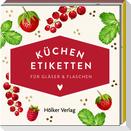 Küchen-Etiketten für Gläser und Flaschen (Rote Beeren, Hölker Küchenpapeterie)