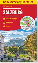 MARCO POLO Cityplan Salzburg 1:12 000
