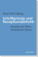 Schriftprinzip und Rezeptionsästhetik