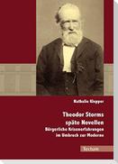 Theodor Storms späte Novellen
