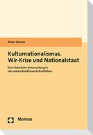 Kulturnationalismus. Wir-Krise und Nationalstaat