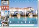 Algarve - Vom Ende der Welt bis Tavira (Tischkalender 2022 DIN A5 quer)