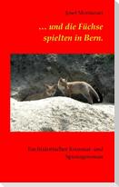 ... und die Füchse spielten in Bern.