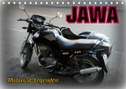 Motorrad-Legenden: JAWA (Tischkalender 2021 DIN A5 quer)