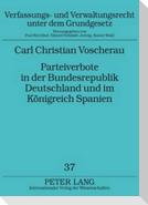 Parteiverbote in der Bundesrepublik Deutschland und im Königreich Spanien