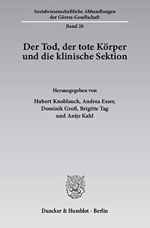 Hubert Knoblauch / Andrea Esser / Dominik Groß /