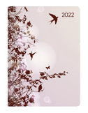 Mini-Buchkalender Style Hummingbird Tree 2022