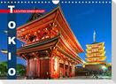 Tokio: Lichter einer Stadt (Wandkalender 2022 DIN A4 quer)