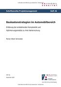 Baukastenstrategien im Automobilbereich - Erklärung der entstehenden Komplexität und Optimierungsansätze zu ihrer Beherrschung
