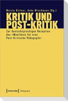 Kritik und Post-Kritik