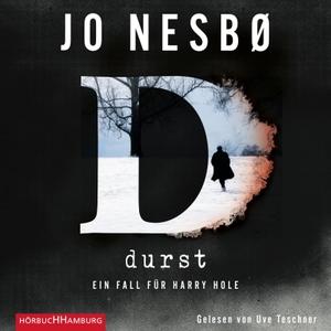 Jo Nesbø / Günther Frauenlob / Uve Teschner. Durst (Ein Harry-Hole-Krimi 11) - 2 CDs. Hörbuch Hamburg, 2018.