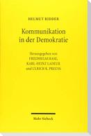 Kommunikation in der Demokratie