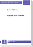 Psychologie der Höflichkeit