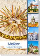 Meißen - bezauberndes Reiseziel (Wandkalender 2022 DIN A2 hoch)