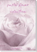 pastel flower collection (Wandkalender 2021 DIN A3 hoch)