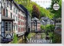 Eine Perle in der Eifel - Monschau (Tischkalender 2022 DIN A5 quer)