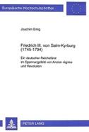 Friedrich III. von Salm-Kyrburg (1745-1794)