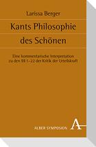 Kants Philosophie des Schönen