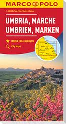MARCO POLO Karte Italien 8. Umbrien, Marken 1:200 000