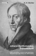 Johann Bartholomäus Trommsdorff