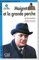 Maigret Et La Grande Perche Book + MP3 CD (Level 2)