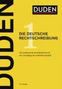 Duden: Die deutsche Rechtschreibung