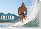 Wellenreiten: Die perfekte Welle finden - Edition Funsport (Tischkalender 2022 DIN A5 quer)