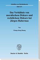 Das Verhältnis von moralischem Diskurs und rechtlichem Diskurs bei Jürgen Habermas
